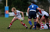 Sunday 3rd December 2017; Ulster Women vs Leinster Women<br /> <br /> Kathryn Dane during the Women's Inter-Pro between Ulster and Leinster at Dromore RFC, Barbon Hill, Dromore, County Down, Northern Ireland. Photo by John Dickson / DICKSONDIGITAL
