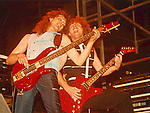Neil Murray & Neil Carter performing live with Gary Moore in Hartford, Ct 1983