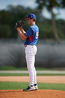 Tanner Witt (99) during the WWBA World Championship at the Roger Dean Complex on October 13, 2019 in Jupiter, Florida.  Tanner Witt attends Episcopal High School in Houston, TX and is committed to Texas.  (Mike Janes/Four Seam Images)