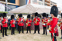 Band of the Coldstream Guards perform during The Coronation Stakes Day of Royal Ascot 2017 at Royal Ascot Racecourse on Friday 23rd June 2017 (Photo by Rob Munro/Stewart Communications)