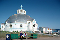 The Igloo Church (Our Lady of Victory), Inuvik, NWT, Northwest Territories, Arctic Canada