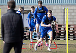 St Johnstone Training...19.03.21<br />Liam Gordon pictured during training at McDiarmid Park ahead of tomorrows game against Ross County.<br />Picture by Graeme Hart.<br />Copyright Perthshire Picture Agency<br />Tel: 01738 623350  Mobile: 07990 594431