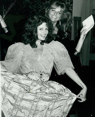 Christina Ferrare and Cheryl Tiegs 1977<br /> Photo By John Barrett-PHOTOlink.net / MediaPunch
