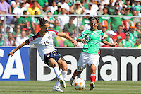 Kate Markgraf during the USA's 3-1 win vs Mexico in Group A of the 2008 CONCACAF Olympic Women's Qualifying Tournament  in Ciudad Juarez, Mexico, April 6, 2008.
