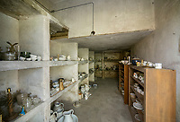 """BNPS.co.uk (01202) 558833. <br /> Pic: KnightFrank/BNPS<br /> <br /> Pictured: In the basement are the former servant quarters, wine cellars and store rooms.<br /> <br /> A castle that was burnt down by a pirate, involved in the English Civil War and has been in the same family for five centuries is on the market for offers over £650,000.<br /> <br /> Kilberry Castle, which dates back to the 15th century, has an incredible history and still has a wealth of original features including a 288-year-old mausoleum.<br /> <br /> It sits in 21 acres of land on the Scottish west coast, with stunning views over Kilberry Bay and out to the islands of Islay, Jura and Gigha.<br /> <br /> The four-storey tower house now needs a buyer """"with deep pockets and great imagination"""" to carry out a complete refurbishment but it has a lot of potential."""