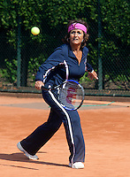 11-5-09, Tennis, Sportpromotion tennisdag, Sylvia Toth