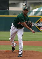 May 22, 2005:  Pitcher Francisco Cruceta of the Buffalo Bisons during a game at Dunn Tire Park in Buffalo, NY.  Buffalo is the International League Triple-A affiliate of the Cleveland Indians.  Photo by:  Mike Janes/Four Seam Images