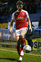 Fleetwood Town's Joe Maguire during the The Checkatrade Trophy match between Bury and Fleetwood Town at Gigg Lane, Bury, England on 9 January 2018. Photo by Juel Miah/PRiME Media Images.