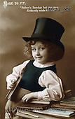 Jonny, CHILDREN, nostalgic, paintings(GBJJ22,#K#) Kinder, niños, nostalgisch, nostálgico