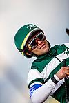 MAR 07: Joel Rosario at the Santa Anita Handicap at Santa Anita Park in Arcadia, California on March 7, 2020. Evers/Eclipse Sportswire/CSM