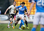 St Johnstone v Inverness Caley Thistle…03.12.16   McDiarmid Park..     SPFL<br />Michael Coulson's back heel is saved by Owain Fon-Williams<br />Picture by Graeme Hart.<br />Copyright Perthshire Picture Agency<br />Tel: 01738 623350  Mobile: 07990 594431