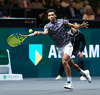 Rotterdam, The Netherlands, 15 Februari 2020, ABNAMRO World Tennis Tournament, Ahoy,<br /> Mens Single Final: Felix Auger-Aliassime (CAN).<br /> Photo: www.tennisimages.com