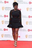 Clara Amfo<br /> arriving for the BAFTA TV Awards 2019 at the Royal Festival Hall, London<br /> <br /> ©Ash Knotek  D3501  12/05/2019