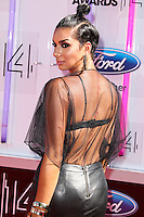 LOS ANGELES, CA, USA - JUNE 29: Laura Govan arrives at the 2014 BET Awards held at Nokia Theatre L.A. Live on June 29, 2014 in Los Angeles, California, United States. (Photo by Xavier Collin/Celebrity Monitor)