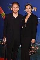 Neil and Katya Jones<br /> arriving for the Cirque du Soleil Premiere of TOTEM at the Royal Albert Hall, London<br /> <br /> ©Ash Knotek  D3471  16/01/2019
