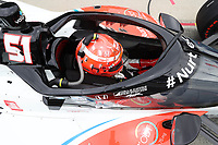 28th May 2021; Indianapolis, Indiana, USA;  NTT Indy Car Series car driver Pietro Fittipaldi (51) sits in his car during Miller Lite Carb Day as teams prepare for the 105th running of the Indianapolis 500