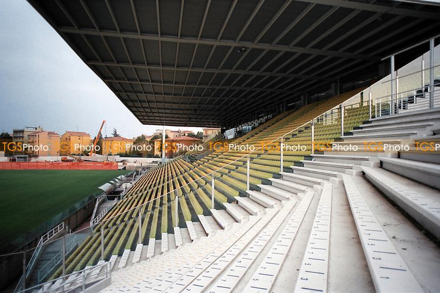 General view of Stadio Ennio Tardini, home of Parma Calcio 1913 FC
