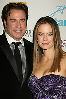 12 July 2020 - Actress and wife of John Travolta Kelly Preston dead at age 57 from breast cancer.22 October 2007 - Beverly Hills, California - John Travolta and wife Kelly Preston. 11th Annual Hollywood Awards Gala Ceremony held at the Beverly Hilton Hotel. Photo Credit: Russ Elliot/AdMedia