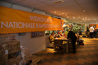 Hilversum, The Netherlands, 05.03.2014. NOVK ,National Indoor Veterans Championships of 2014,entrance<br /> Photo:Tennisimages/Henk Koster