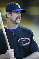 Arizona Diamondbacks coach Robin Yount before a 2002 MLB season game against the Los Angeles Dodgers at Dodger Stadium, in Los Angeles, California. (Larry Goren/Four Seam Images)