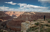 Marble Canyon precedes the Grand Canyon at Grand Canyon National Park, Arizona