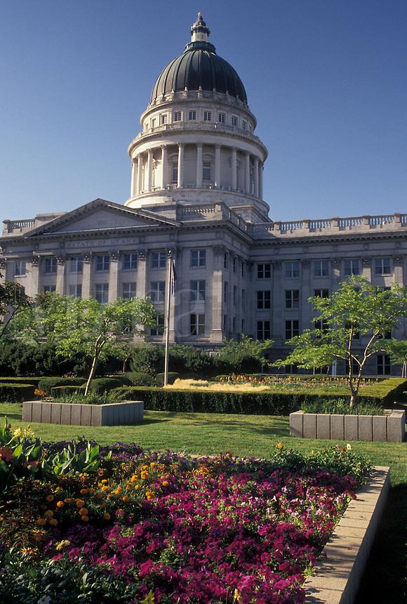 State Capitol, State House, Salt Lake City, UT, Utah, The State Capitol Building in Salt Lake City.