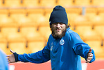 St Johnstone Training…04.04.17<br />Murray Davidson pictured during training this morning ahead of tomorrow's game against Hearts<br />Picture by Graeme Hart.<br />Copyright Perthshire Picture Agency<br />Tel: 01738 623350  Mobile: 07990 594431