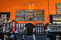 New Orleans, Louisiana.  Mojo Coffee House in the Garden District.  1500 Magazine Street.