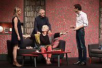 Claudia DIMIER, Marie-Christine BARRAULT, Arthur FENWICK, Alain DOUTEY - Filage de la piece 'CONFIDENCES' de Jody Pietro - 28 aout 2017 - Theatre Rive Gauche, Paris, France