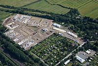 Gleisdreieck Wohnungsbau : EUROPA, DEUTSCHLAND, HAMBURG 13.07.2016: im Bau befindliches Wohngebiet Gleisdreieck Mittlerer Landweg