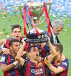 2015 La Liga Celebracion FC Barcelona