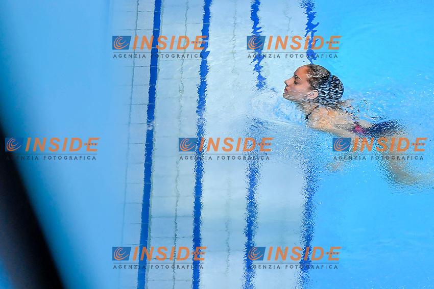 GILLET Nais FRA<br /> 3m Springboard Women Preliminary <br /> Diving <br /> Budapest  - Hungary  15/5/2021<br /> Duna Arena<br /> XXXV LEN European Aquatic Championships<br /> Photo Giorgio Perottino / Deepbluemedia / Insidefoto