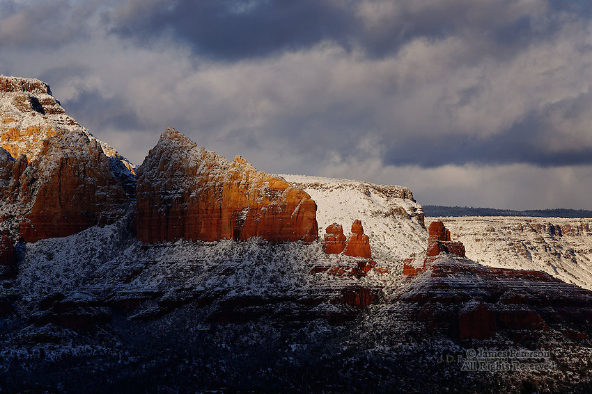 Sedona Winter Wonderland #5.  Available in sizes up to 30 x 45 inches.