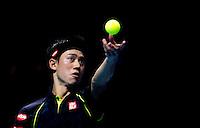 ROGER FEDERER and KEI NISHIKORI - ATP World Tour - 19.11.2015