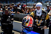 Verizon IndyCar Series<br /> Indianapolis 500 Carb Day<br /> Indianapolis Motor Speedway, Indianapolis, IN USA<br /> Friday 26 May 2017<br /> James Hinchcliffe, Schmidt Peterson Motorsports Honda during the pit stop competition<br /> World Copyright: Scott R LePage<br /> LAT Images<br /> ref: Digital Image lepage-170526-indy-9462