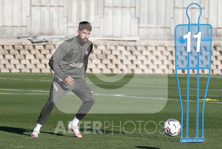 Atletico de Madrid's Diego Costa during training session. October 8,2020.(ALTERPHOTOS/Atletico de Madrid/Pool)