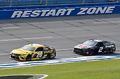 #20: Erik Jones, Joe Gibbs Racing, Toyota Camry STANLEY #2: Brad Keselowski, Team Penske, Ford Mustang Snap on