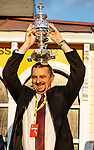 MAY 15, 2021: Trainer Michael McCarthy after wining the Preakness Stakes at Pimlico Racecourse in Baltimore, Maryland on May 15, 2021. EversEclipse Sportswire/CSM