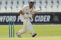 Nick Browne of Essex in batting action during Nottinghamshire CCC vs Essex CCC, LV Insurance County Championship Group 1 Cricket at Trent Bridge on 6th May 2021