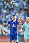 Gabriel Appelt Pires of CD Leganes in action during the La Liga 2017-18 match between CD Leganes vs FC Barcelona at Estadio Municipal Butarque on November 18 2017 in Leganes, Spain. Photo by Diego Gonzalez / Power Sport Images