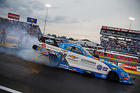 Sep 1, 2017; Clermont, IN, USA; NHRA funny car driver John Force during qualifying for the US Nationals at Lucas Oil Raceway. Mandatory Credit: Mark J. Rebilas-USA TODAY Sports
