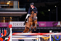 GBR-Ben Maher rides Explosion during the Jumping Individual Final. Tokyo 2020 Olympic Games. Wednesday 4 August 2021. Copyright Photo: Libby Law Photography