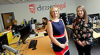 Pictured L-R: Laura Burkinshaw with Laura Carter Wednesday 10 August 2016<br />