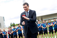 The President of the Government of Spain Pedro Sanchez during the visit to the national soccer team training session. June 5,2018.(ALTERPHOTOS/Acero) /NortePhoto.com NORTEPHOTOMEXICO