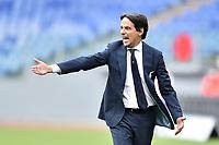 Simone Inzaghi coach of SS Lazio during the Serie A football match between SS Lazio and Genoa CFC at Olimpico Stadium in Roma (Italy), May 2th, 2021. Photo Antonietta Baldassarre / Insidefoto