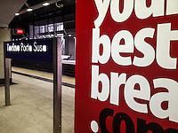 Torino, interno stazione di Porta Susa , inside of a Turin train station