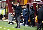 Motherwell v St Johnstone…20.02.21   Fir Park   SPFL<br />Motherwell boss Graham Alexander<br />Picture by Graeme Hart.<br />Copyright Perthshire Picture Agency<br />Tel: 01738 623350  Mobile: 07990 594431