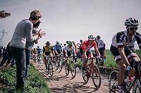 Mads Pedersen (DEN/Trek Segafredo)<br /> <br /> 116th Paris-Roubaix (1.UWT)<br /> 1 Day Race. Compiègne - Roubaix (257km)