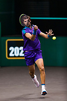 Rotterdam, The Netherlands, 5 march  2021, ABNAMRO World Tennis Tournament, Ahoy,  Quarter final: Karen Kachanov (RUS).<br /> Photo: www.tennisimages.com/henkkoster