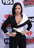 Demi Lovato @ the 2016 iHeart Radio Music awards held @ the Forum.<br /> April 3, 2016